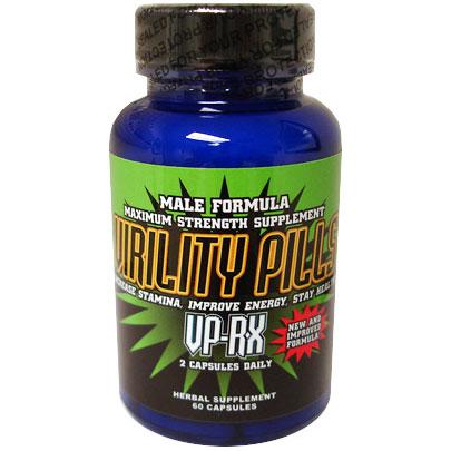 Virility Pills Vp Rx Male Enhancement Formula 60 Capsules