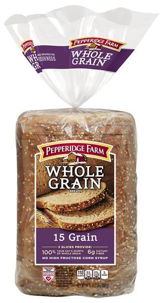 Pepperidge Farm Whole Grain 15 Grain
